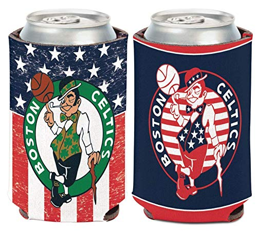 Wincraft NBA Boston Celtics 12 oz. 2-Sided USA Design Can Cooler