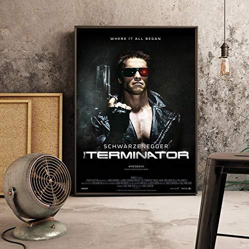 GJQFJBS Filmkunst Plakate Leinwand Malerei Plakate und Bild Wandkunst Bild für Wohnzimmer Wohnkultur (Rahmenlos) A3 50x90CM