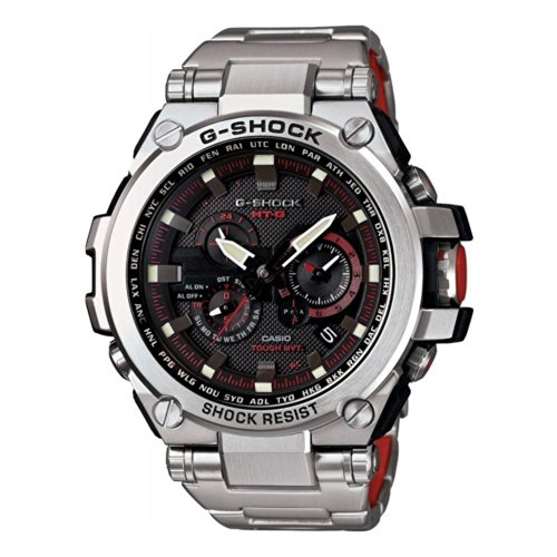 Casio G-Shock Black Dial Stainless Steel...