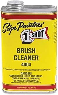 One-Shot Brush Cleaner, 1 quart - Pinstriping Brush Cleaning Solution