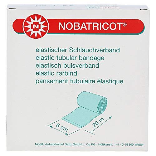 Nobatricot Schlauchverband elastisch 20mx6cm Verband 1 Stück