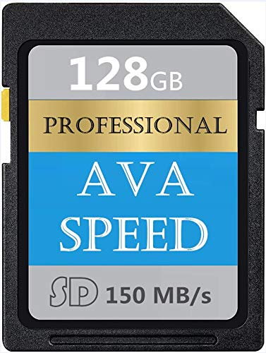Digital Series - Tarjeta SD de 128 GB de memoria SDXC Card, V60, U3, alta velocidad hasta 150 MB/s para cámara de vídeo digital Full HD (128 GB)