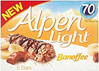Alpen Light Banoffee Bars - 5 x 19g
