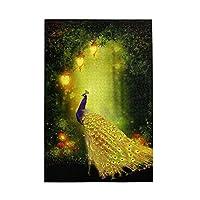 1000 ピース ジグソーパズル,美しい金の孔雀 Picture Puzzle 大人 子供 の 木製パズル 独立した実践的なスキルを養う 親子ゲーム 減圧玩具ギフト ジグソーパズル 組み立てジグソー楽しいゲームジグソーパズル 子供 初心者向け ギフト プレゼント