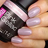 Pink Gellac - Esmalte de uñas de gel, rosa, cachemira, 15 ml