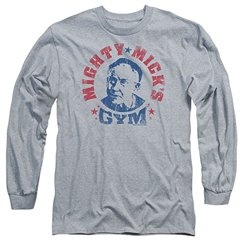 Rocky MGM Movie Mighty Mick's Gym Adult Long Sleeve T-Shirt Tee XL