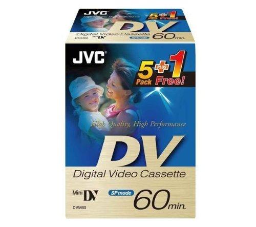 JVC M-DV 60DE - Mini DV - 5 x 60min
