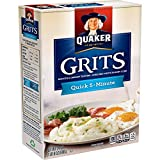 Quaker Old Fashioned Smooth & Creamy Grits, 24 Ounce by Grocery Test Brand