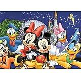 ZSWQ DIY 5D Diamond Painting Mickey Mouse, Kristall Strass