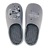 [ベルメゾン]ディズニー スリッパ もっちり 低反発 ウレタン入り 室内 洗える 快適スリッパ ミッキーマウス 蒸気船ウィリー M