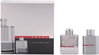 Prada Luna Rossa Pour Homme 2 Piece Set Includes: 1.7 oz Eau de Toilette Spray + 3.4 oz Shower Gel