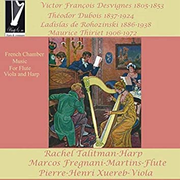 French Chamber Music for Flute, Viola and Harp