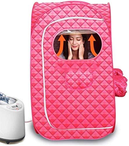 Box Tragbare Dampfsauna, Haus Persönliche Physiotherapie Sauna Zimmer mit Fernbedienung Timing-Funktion, zum Reduzieren Gewicht Slim Down Detox und Detox Relax (Size : Double)