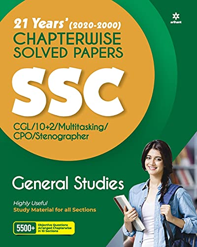 SSC Chapterwise Solved Papers General Studies 2021