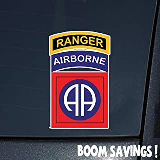 US Army 82nd Airborne Division w Ranger Tab SSI () 6