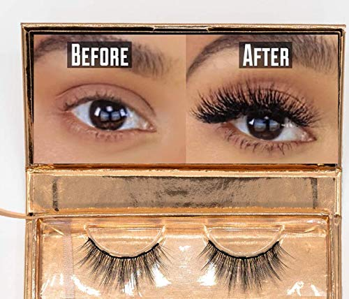 KEMBI Magnetic online Limited time trial price shop False Lashes Eyelashes - NATUR EVERYDAY