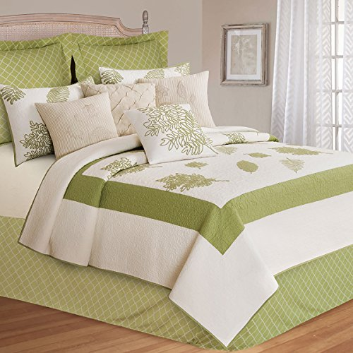 Best Prices! C&F Home Willow Sage King Quilt King Quilt Green