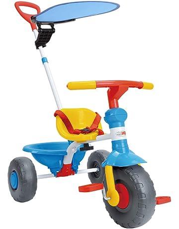Liamostee Elektrisches Dreirad-Spielzeug mit Musik-Licht 360 Grad das batteriebetrieben f?HRT