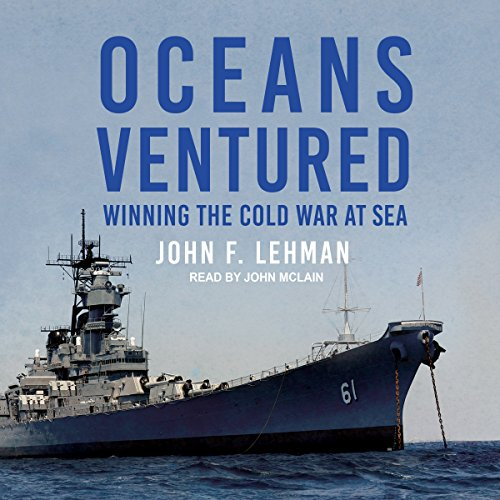 Oceans Ventured audiobook cover art