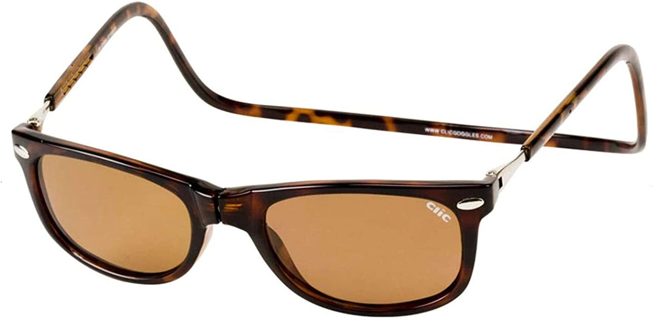 Clic Magnetic Ashbury Sunglasses in Tortoise (Wide Fit)