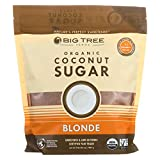 Big Tree Farms Organic Blonde Coconut Sugar, Vegan, Gluten Free, Paleo, Certified Kosher, Cane Sugar Alternative, Substitute for Baking, Non GMO, Low Glycemic, Fair Trade, 2 Pound - Packaging May Vary