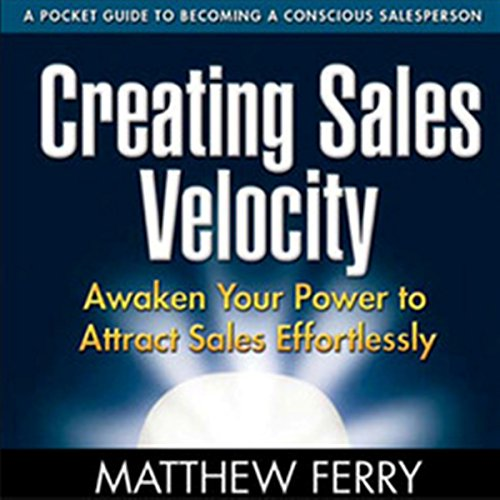 Creating Sales Velocity audiobook cover art