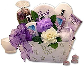 Womens Gift Tranquility Delights Bath & Body Set Spa Gift Basket
