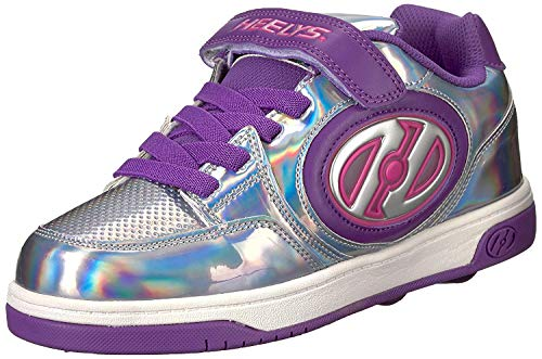 Heelys X2 Plus Lighted - White/Neon Multi, Silber-lila, 36.5 EU