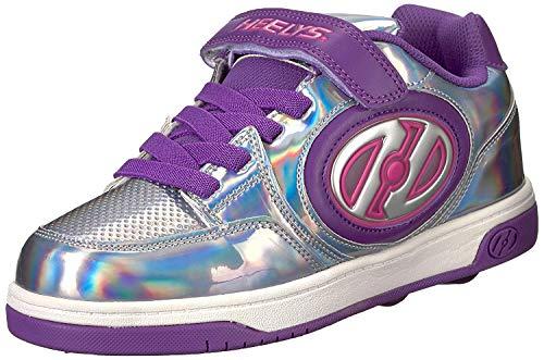 Heelys X2 Plus Lighted Schuhe silber-lila Mädchen silber-lila, 34