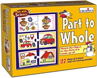 Creative's Part To Whole Puzzle  0990  Match the object to the Parts it is made up of! For the children 4 Yrs and above