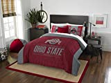 The Northwest Company Ohio State Buckeyes Full Comforter and Sham Set, Full/Queen , Red