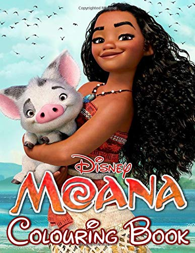 Disney Moana Colouring Book