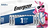 Energizer AAA Lithium Batteries, Ultimate Lithium Triple A Battery (12 Count), Longest-Lasting AAA Battery - Packaging May Vary