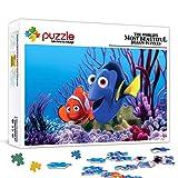 Rompecabezas de 300 piezas para adultos Buscando a Nemo: Nemo, Dolly, póster de película Juego de rompecabezas de 300 piezas Juego de rompecabezas de juguete Decoraciones y regalos únicos para