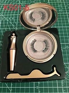 Hlwj Magnetische wimpers magnetische Liquid Eyeliner & Magnetic Valse Wimpers & Tweezer Set magnetische eyeliner en lange ...