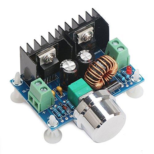 Droking DC Buck convertidor regulador de voltaje, DC 4-40V a 1.25-36V 8A convertidor descendente, 200W placa de regulación de voltaje de alta potencia, módulo de reducción de voltios
