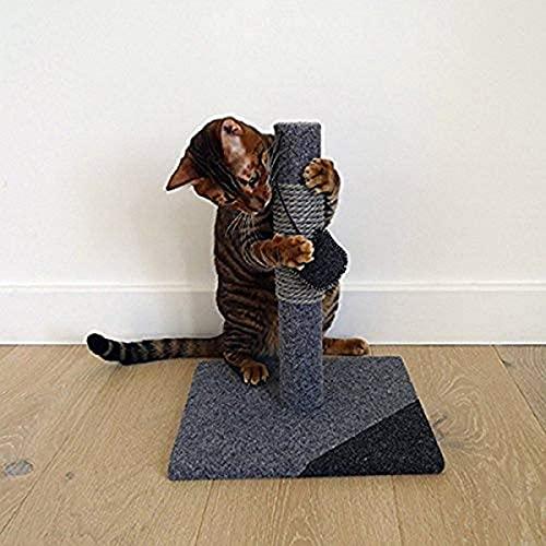 Rosewood Catwalk Charcoal Felt Cat Post 35.5x29x29cm