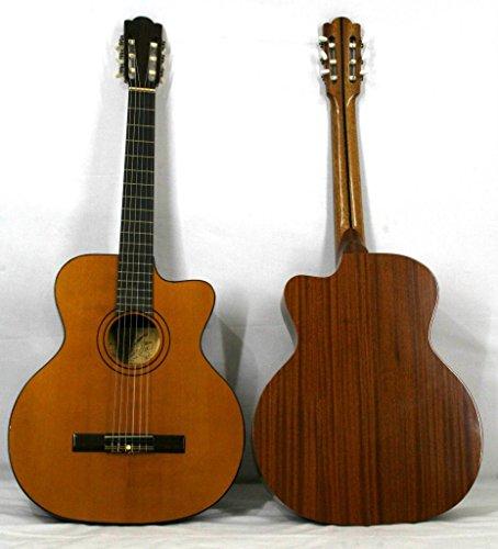 musikalia clásico guitarra Modelo Star, con cutaway, Luthier de Crafted–Vintage, handgefertigten entre 1970y 1990