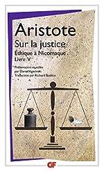 Sur la justice - Ethique à Nicomaque Livre V d'Aristote
