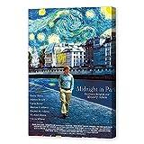 NCCDY Filmposter Midnight in Paris Woody Allen