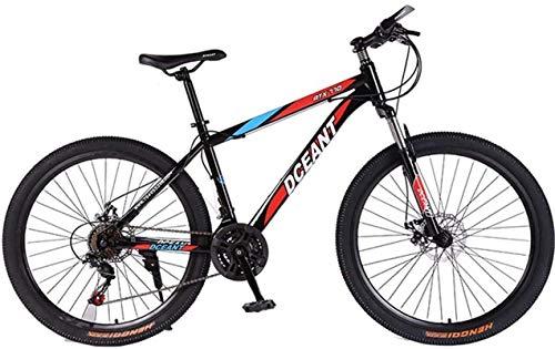 Vélo durable de haute qualité, Sports de plein air Vélos de montagne Vélo pliant, Frein 21Speed Double disque fourche à suspension AntiSlip, Offroad Vélos de course à vitesse variable for hommes et
