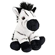 Wildlife Tree 5 Inch Stuffed Zebra Calf Zoo Animal Plush Floppy Animal Kingdom Babies Collection