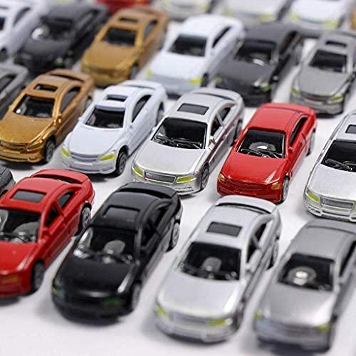 freneci 50x Modell Auto Zubehör Modellauto Modellbau Fahrzeug, Maßstab: 1:87