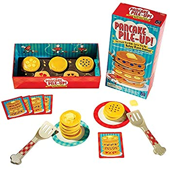 Educational Insights Pancake Pile-Up Sequence Relay Game  Preschool Game for Preschoolers & Toddlers Ages 4+