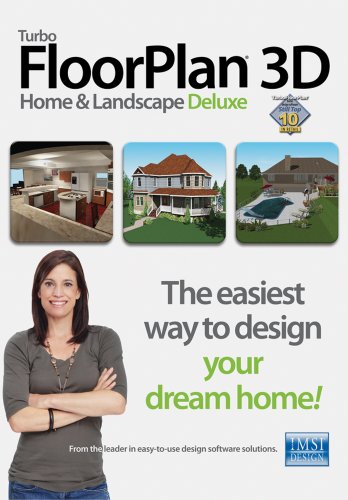 TurboFloorPlan 3D Home & Landscape Deluxe v17 [Download]
