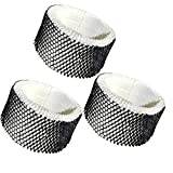 HQRP Filter 3-Pack Compatible with Sunbeam SWF62-CN1#SWF-62 SWF62 SF-212 SF212 SCM1100 SCM1701 SCM1702 SCM1761 SCM1762 SCM2409 SCM41000 Humidifier Coaster