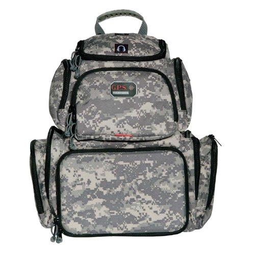 G.P.S. Handgunner Backpack Range Bag, Digital Camo