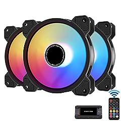 EZDIY-FAB 120mm RGB lüfter,Motherboard Aura