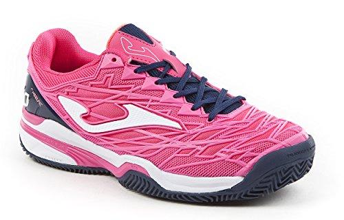 Joma Ace Pro Lady, Zapatillas de Tenis Mujer, Rosa (Fuchsia), 41 EU