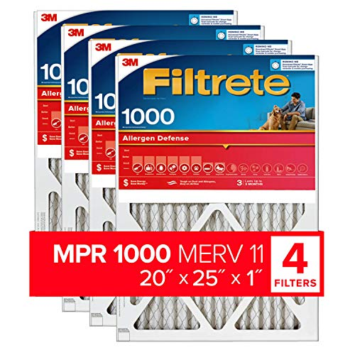 furnace filters 1 inch - 1